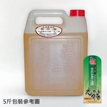 【元福麻油】頂級苦茶油-5斤桶包裝
