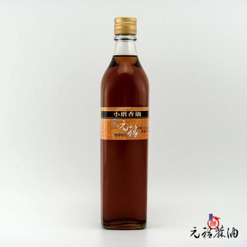 【元福麻油】優級小磨香油