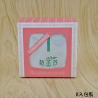 【拾茶客】原片立體茶包-桂花烏龍茶/伯爵紅茶/四季春茶/玄米茶-8入裝